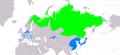 Anser fabalis (sensu lato) distribution map.png