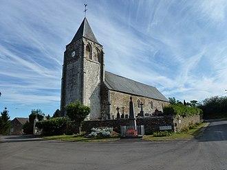 Antheny - Image: Antheny (Ardennes) Église Saint Remy extérieur