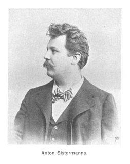Anton Sistermans Dutch baritone