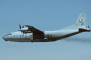Antonov An-12BP, Slovakia - Air Force AN1357099.jpg