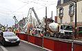 Anzin & Valenciennes - Travaux de raccordement des lignes A & B du tramway de Valenciennes à la Croix d'Anzin le 9 août 2013 (38).JPG