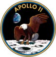 Mission insignia of Apollo 11