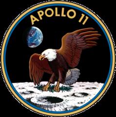 Apoloo 11 badge