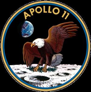 Mission patch - Apollo 11 mission insignia