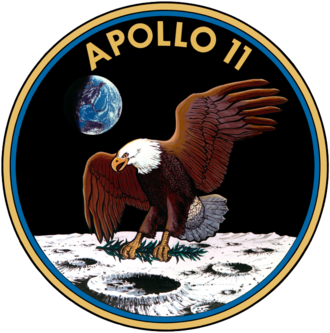 Mission patch - Apollo 11 mission insignia