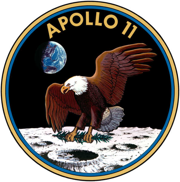Archivo:Apollo 11 insignia.png