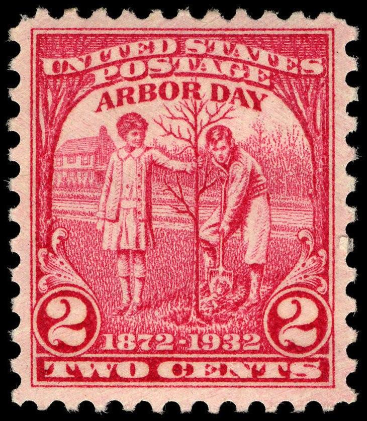 Arbor Day 2c 1932 issue U.S. stamp