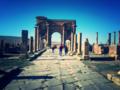 Arc dit de Trajan à Timgad en Algérie.png