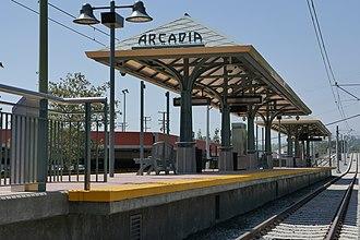 Arcadia station - Image: Arcadia Station 1