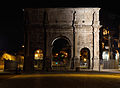 Arch of Constantine at Night.jpg