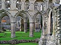 Arches at Rievaulx - geograph.org.uk - 840940.jpg