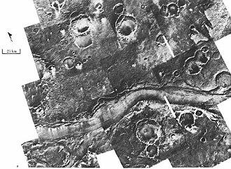 Chryse Planitia - Image: Ares Vallis from Viking
