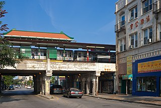 West Argyle Street Historic District human settlement in Chicago, Illinois, United States of America