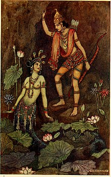 Arjuna and the River Nymph by 1913.jpg