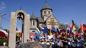 Armenians in Russia - Commemoration of the Armenian Genocide in Volgograd, 2012