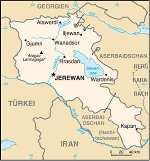 armenien karte Armenien – Reiseführer auf Wikivoyage