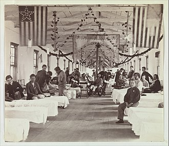 Armory Square Hospital - Image: Armory Square Hospital, Washington MET DP274786