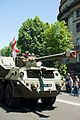 Armoured car during the independence day of Georgia, Tbilisi.jpg