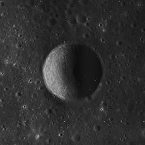Armstrong (crater) - Image: Armstrong crater 5074 med