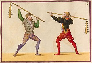 Flail (weapon) term referring to two weapons: one a two-handed infantry weapon derived from an agricultural tool, and the other a one-handed weapon
