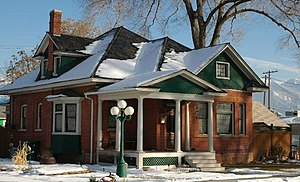 Murray Downtown Residential Historic District - Arthur Townsend Home, Murray Downtown Historic Residential District