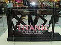Artifacts on Titanic Exibition Montreal.JPG
