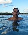 Artist, Ithaka Darin Pappas, on Oahu, Hawaii.jpg
