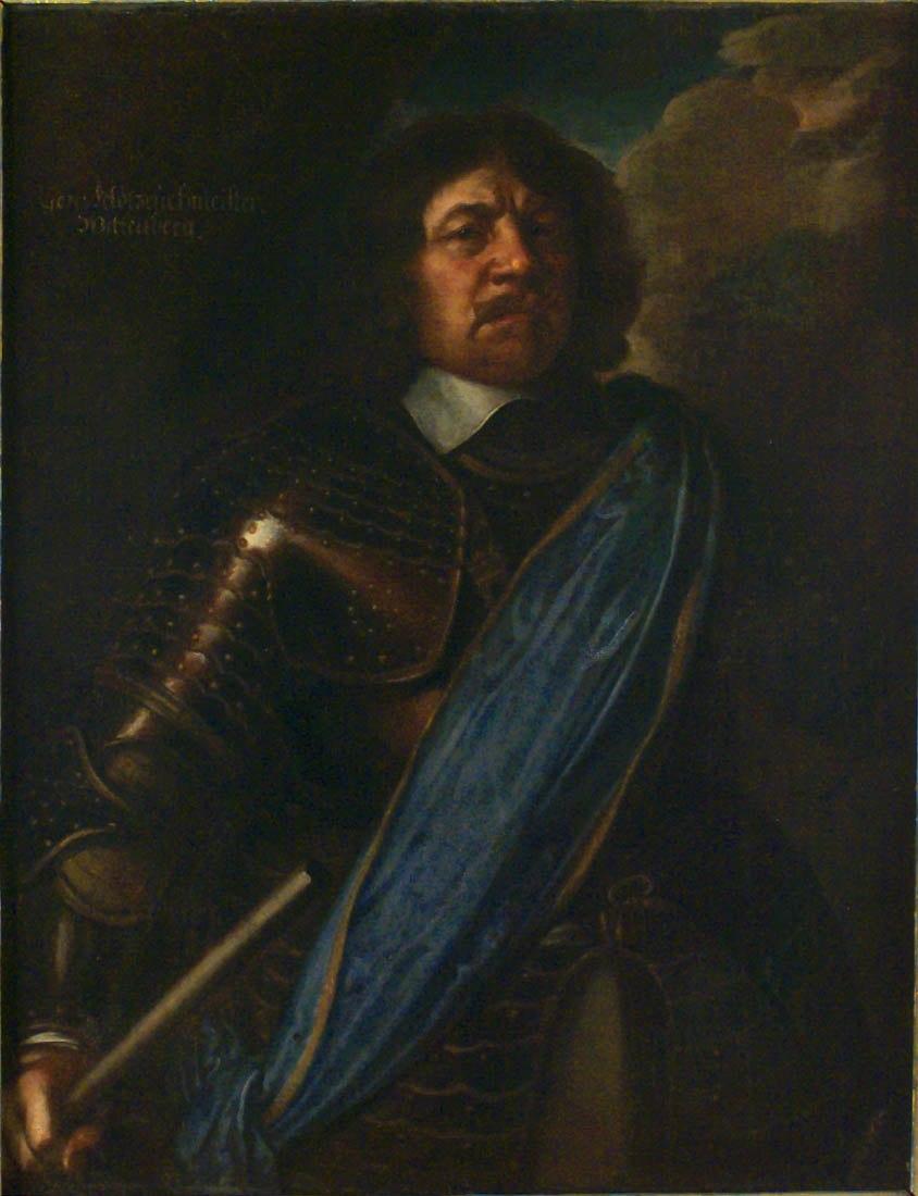 Arvid Wittenberg porträtterad 1649 av Matthäus Merian dy