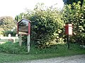 Athelhampton, postbox № DT2 87 - geograph.org.uk - 983913.jpg