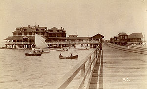 Tampa Bay - Port Tampa, circa 1900.