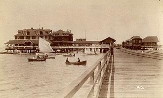 Tampa Bay - Port Tampa, circa 1900.