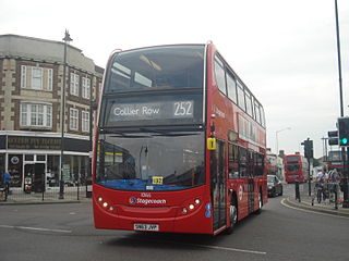 London Buses route 252