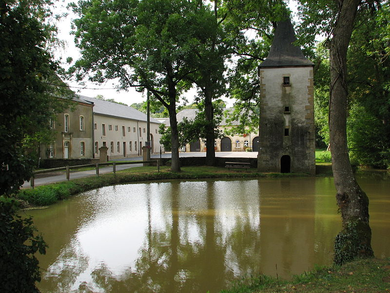 Le domaine de Clémarais, à Aubange