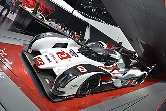 2014 24 Hours of Le Mans - Audi Sport Team Joest No. 2 Audi R18 e-tron quattro, Winner of the 2014 24 Hours of Le Mans