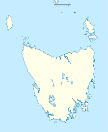 YMHB is located in Tasmania