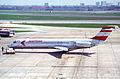 Austrian Airlines MD-87; OE-LML@LHR;13.04.1996 (5216896047).jpg