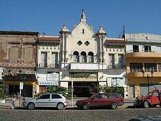 Avellaneda - Image: Avellaneda Teatro Colonial