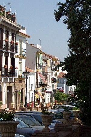 Alhaurín de la Torre - Image: Avenida de España, Alhaurín de la Torre, España