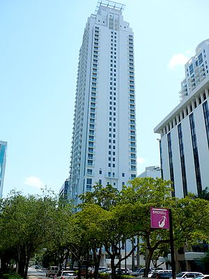 Avenue on Brickell - Avenue on Brickell East tower, on Brickell Avenue