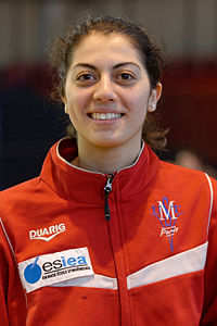 Azza Besbes au Tournoi international Paris Île-de-France 2013