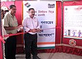 B.R. Babu inaugurating the voter awareness exhibition, organised by DAVP, as part of SVEEP programme of the Election Commission of India, at Belonia.jpg