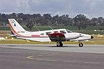 BAE Systems Australia (VH-YSA) Piper PA-34-220T Seneca taxiing at Wagga Wagga Airport (1).jpg