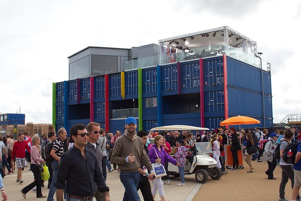 BBC 2012 Summer Olympics studio