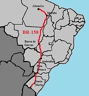 BR-158 - Image: BR 158