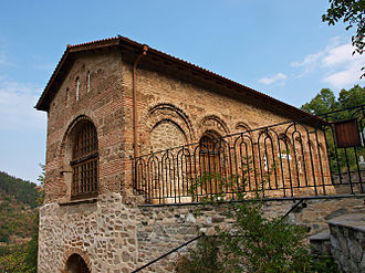Gregory Pakourianos - The ossuary of the Bachkovo Monastery which houses the remains of Gregory Pakourianos.