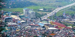 Mega Manila - Bacoor downtown area in Cavite.