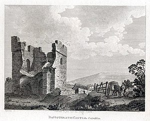 Battle of Rathmines - Baggotsrath Castle in 1792