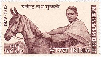 Bagha Jatin - Bagha Jatin on a 1970 stamp of India