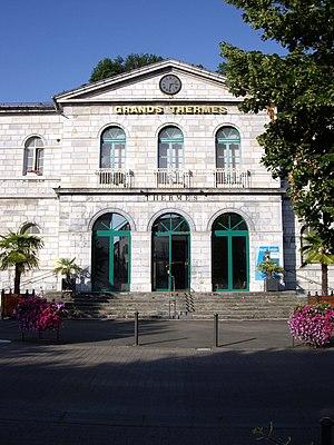 Bagnères-de-Bigorre - The Grands Thermes thermal baths.