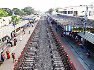 Baharampur - Baharmpur Railway Station, Murshidabad.